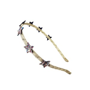 H1280M BEDAZZLE STAR HEAD BAND