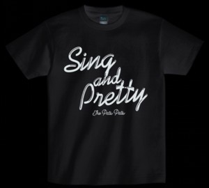 THE PATS PATS「SING AND PRETTY」Tシャツ
