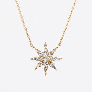 Sunlight K18 Diamond Pendant Necklace (ダイヤモンド ペンダントネックレス)