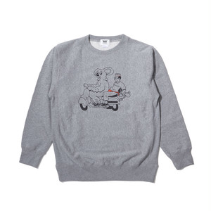[ 坩堝 ] MOUSE CREW NECK SWEAT