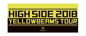 『YELLOW BEAMS ツアータオル』ワンマンライブ -YELLOW BEAMS TOUR OFFICIAL GOODS-(2018年2月〜5月)