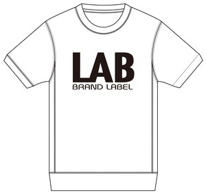 LABスウェットTシャツ ホワイト S