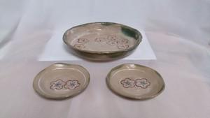 中鉢&小皿セット(梅)