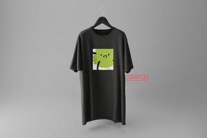 """飛鮫ナミ描き下ろしデザイン""""marimo[no]"""" vket-limited Tシャツ(スミ)"""