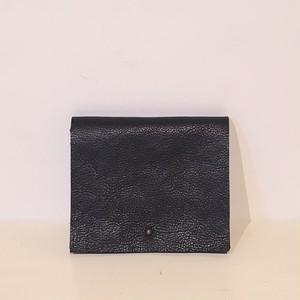 mïndy / mini leather wallet black