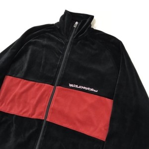 SUB_AGE 17AW VELOUR ZIP-UP TRACK JACKET