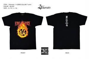 24karats × KOB7 COLLABO T-shirt