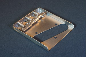 Telecaster Titanium Bridge Set