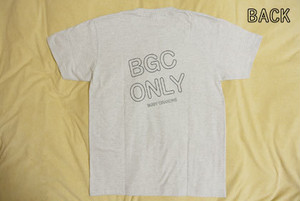 Lesson 2 : BGC ONLY Tシャツ ( アッシュ )