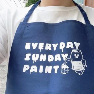 EVERYDAY SUNDAY PAINT エプロン