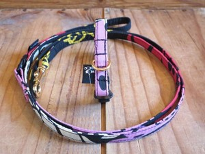 The Black Eyed Peas Collar & Leash - XS(超小型犬・幼犬用)