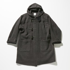 【FILL THE BILL】《MENS》REVER BRUSHED DUFFEL COAT - CHARCOAL