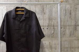 Paisley opencollar h/s shirt
