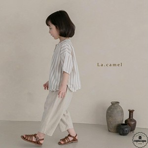 «sold out» La camel scone pants 2color リネンパンツ