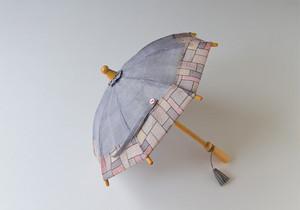ミニ日傘(グレー/パープル)