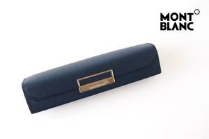 モンブラン|MONTBLANC|サルトリアル|1本差しペンケース|Sartorial Pen Pouch Lady|ネイビー