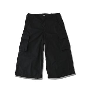 WIDE WORK PANTS / BLACK
