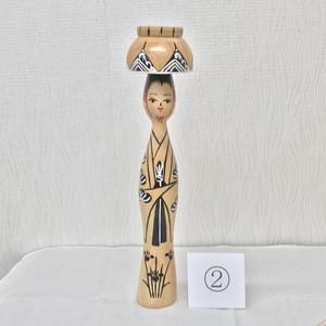 琉球みやらびこけし 四つ竹(琉球松)