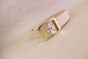 JAPAN LANSUI DESIGN 名入れ対応 ヌメ革手作り 真鍮バクッル 厚み3~4MM 経年変化ベルト 品番JNF9787D45343