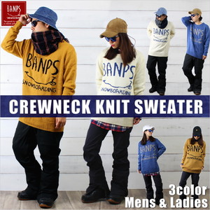 CREWNECK KNIT SWEATER bp-85