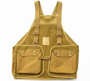 MIS-1030 HUNTING VEST_COYOTE TAN
