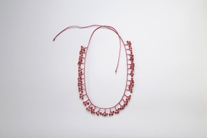 necklace No.01 / red / line