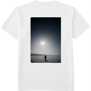 95.Finland100 Tシャツ / 月明かり