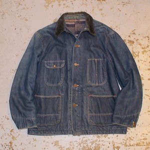 50s OXHIDE DENIM COVERALL / UT1459