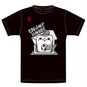 ジンべーニョENJOY HOME Tシャツ(ブラック)