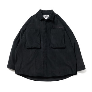 TIGHTBOOTH:FW20-S01 : CORD BIG SHIRT