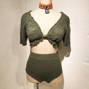 Clochet Bikinis / Khaki