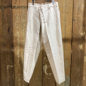 08sircus / Organic C/L chino cloth wrap pants