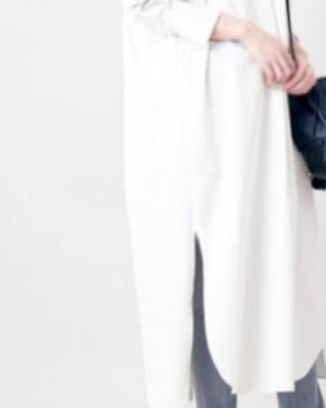 【4月入荷予定】L'Ancre (アンカー)タイダイ染めバンダナ カフタンシャツ
