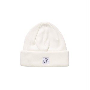POLAR SKATE CO / DOUBLE FOLD COTTON BEANIE -IVORY-
