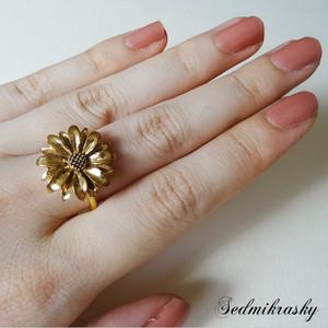 sedm セドム Sedmikrasky Ring / Gold