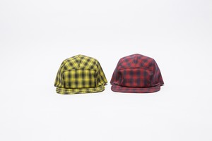 NYLON CHECK CAMP CAP