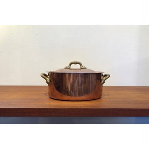 Mauviel Two Handed copper pot