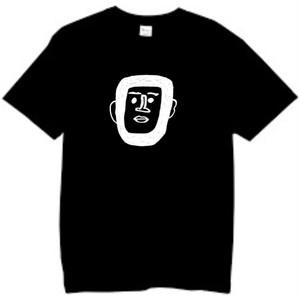 世界平和Tシャツ ブラック/ホワイト