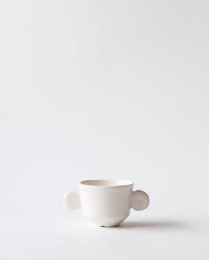 小さな植木鉢(ミルク)