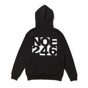 NOE 246 zip-up hoodie