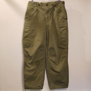 U.S.ARMY 1950's M-51 field pants SizeM-R