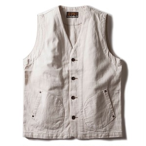 AT-DIRTY(アットダーティー)/WORKERS VEST (IVORY)