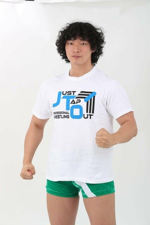 JUST TAP OUT オリジナルロゴTシャツ タイプE