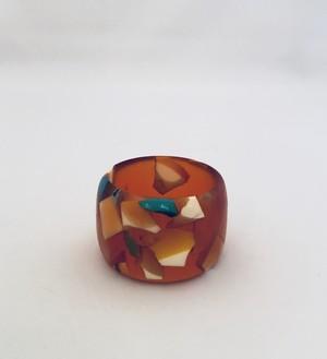 vintage orange bangle