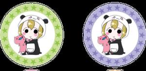 コースター グリーン×パープル【残り4個で発売中止】
