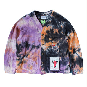 (CAL O LINE) TIE DYE ENGINEERS JACKET