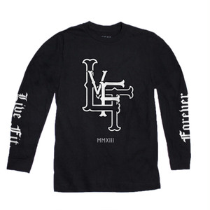 LIVE FIT  Forever Long Sleeve- Black