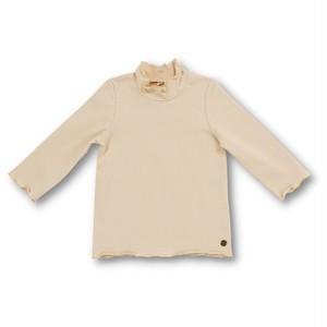 Little s.t. by s.t.closet フリルハイネックTシャツ