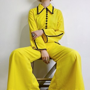70s yellow jump suits