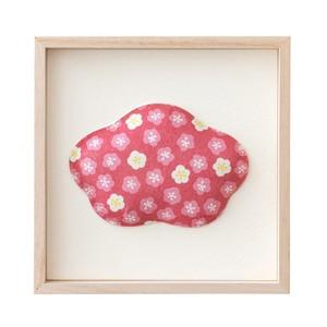 1種飾り 赤小花 F01-UM003